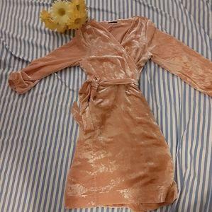J Crew velour dress XL